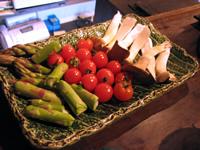 「わ」の美味しい野菜焼き